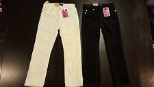 Girls Levis Jeans Pants NEW Size 6 Slim Straight Soft Stretchy Adjustable Waist