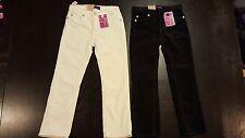 Girls Levis Jeans Pants NEW Size 6 Slim Straight Soft Stretchy Adjustable Waist