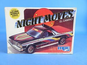 Vintage MPC Night Moves El Camino 1980 1/25 Model Kit BUILT