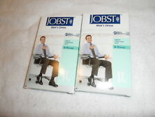 Jobst Men's Dress Support Compression Socks 8-15 mmHg Size M  Black Knee CT