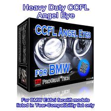 Heavy Duty BMW CCFL Angel Eyes Halo Rings White 7000K  E46 ci facelift 04-06