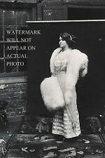 Photograph of Storyville prostitute, by E. J. Bellocq, circa 1912 (4x6 Reprint)