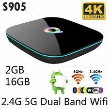 Android 5.1 Tv Box S905 Smart Tv Box Amlogic Quad Core 2Gb + 16Gb Wifi 4K Bt G1