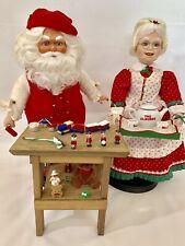 Danbury Mint Vintage Santa And Mrs Claus