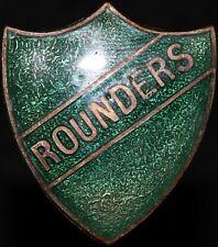 More details for thomas fattorini ltd birmingham 'rounders' badge   badges   km coins