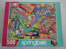 "Springbok ""Sweet Tooth"" Candy 500 Piece Jigsaw Puzzle COMPLETE PIECES SEALED"