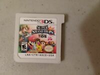 Super Smash Bros. (3DS, 2014) game only mint played once ship out fast