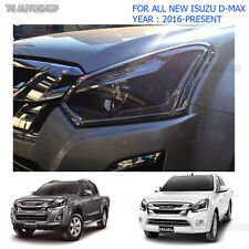 Fit Isuzu D-Max Holden 1.9L Pick Up 2016 2017 Chrome Front Head Lamp Light Cover