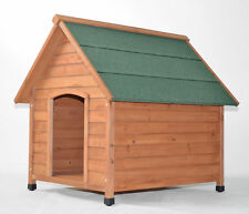 Hundehütte Hundehaus Haustierstall Holz mit Wetterdach   NEU