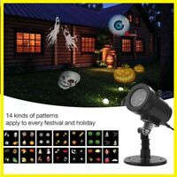 Christmas moving Laser Projector LED Lights Waterproof Landscape Snowflake oh