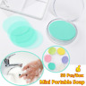 50pcs Travel Mini Disposable Convenient Washing Hand Bath Soap Flakes Soap Sheet