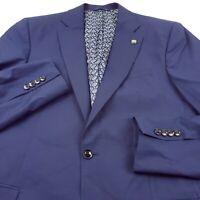 Ted Baker Endurance Jay CT Wool Suit Separate Jacket Mens 42L Long Blue