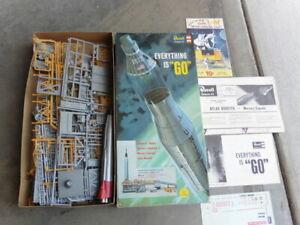 Revell Friendship 7 Mercury Capsule & Atlas Booster 1962 Model Kit Started 1/110
