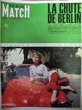 PARIS MATCH N° 0892 BARDOT FESTIVAL DE CANNES LA CHUTE DE BERLIN MAI 45 1966