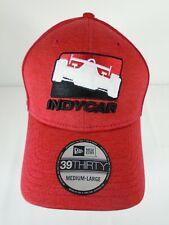 INDYCAR Series New Era 39Thirty Cap Collector Hat Medium-Large Red