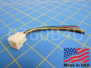 Accessory Connector Plug for President and Uniden radios HR2510 HR2600 Lincoln