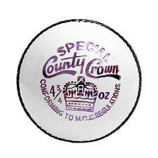 Specl County White Cricket Ball Women Cricket Tournament Ball Match Quality Ball