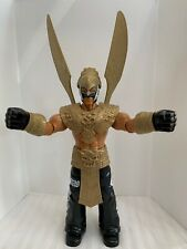 2014 WWE Rey Mysterio Action Figure Mattel with Gold Wings Toy