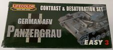 Lifecolor MS02 German AFV Panzergrau Easy 3 Acrylfarbe 3x22 ml (100ml=13,64€)