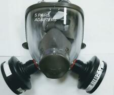 3M Respirator ( Full face) bayonet  to 40mm NATO  CRBN Filter Adapter (5 PAIRS)