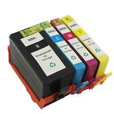 4 Pack HP920 XL Ink Combo Fit HP 920XL Officejet 7000 6000 6500 with chip