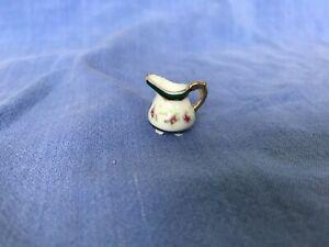 Dollhouse Miniature China Pitcher 1:12
