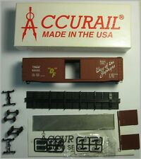Accurail 5008-1 Ho Scale Aar 50' Steel Box Car Kit C B & Q #23069