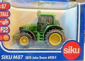 SIKU Farmer 1/87 1870 John Deere Tractor 6920 S New Original Packaging
