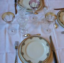 Service porcelaine fine de Limoges Bernardeau et Cie 6 assiettes ou plus