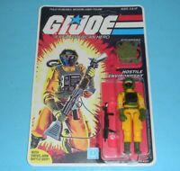 *RECARDED* 1985 GI Joe Airtight v1 Figure Complete Sealed *CUSTOM File Card Back
