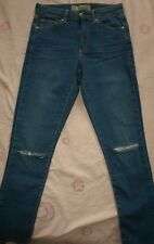"""topshop moto leigh"" Ladies Skinny Jeans Size W24 to fit L30"