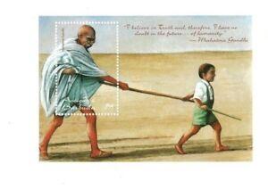 Antigua 1998 - Mahatma Gandhi Stamp Souvenir Sheet - MNH