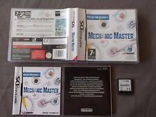 MECHANIC MASTER pour Nintendo DS