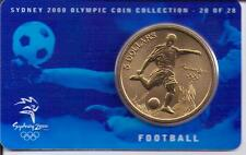 2000 $5 RAM UNC Coin Sydney Olympic coin collection- 20 of 28 (Football) + cover