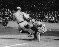 1912 Detroit Tigers TY COBB 8x10 Photo Sliding at Home Plate Baseball Print