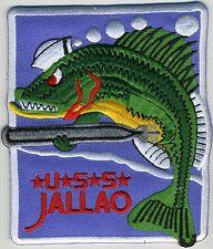 USS Jallao SS 368 - Original Design w/o Hull Number BC Patch Cat No C5446