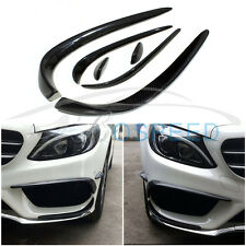 Bospeed Carbon Fiber Front Lip Decoration for Mercedes Benz W205