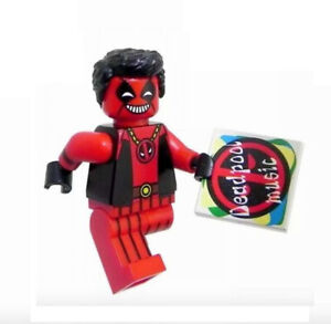 Lego Mini Figure Legendary Painter USA SELLER With Face Deadpool BOB ROSS