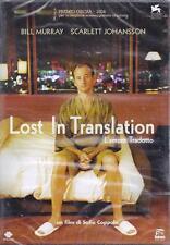 Dvd «LOST IN TRANSLATION ~ L'AMORE TRADOTTO» con S.Johansson B.Murray nuovo 2003