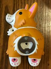 New listing Corgi Butt Bottle Opener Big Mouth Inc Wall Mounted Funny House/Bar Accessories