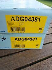 Pair of Front Brake Disc Fits KIA Carnival Sedona Blue Print ADG04381