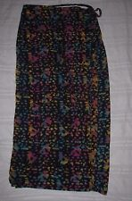 Womens size Medium M BRITCHES Great Outdoors WRAP SKIRT Abstract Colorful
