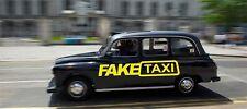 2 X Pegatina de taxi falso Coche Surf Vinilo Autoadhesivo Con Euro Jdm dubv Gracioso Jap Vw