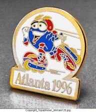 OLYMPIC PINS 1996 ATLANTA GEORGIA USA MASCOT IZZY ROLLER BLADING SKATING