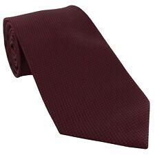 Michelsons of London Semi Plain Extra Long Tie