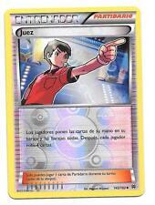 Pokemon JUEZ 143/162 NM Holo Foil ESPAÑOL BREAKthrough Trainer