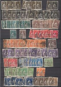 Portugal 1912/1917 Lot Ceres with duplicates not checked on type mixed quality 5