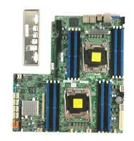 Supermicro Server Motherboard X10DRW-i Dual Socket R3 LGA2011 16DIMMs DDR4 WIO