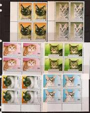 TOGO 1997 CATS BLOCK OF 4 CORNER SC # 1757-1762 MNH