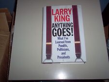 "Larry King""Anything Goes""-hardback"